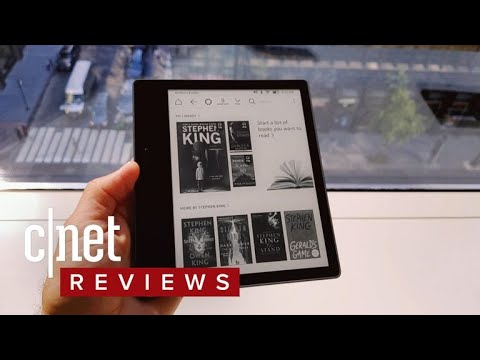 The updated Kindle Oasis e-reader review