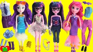 My Little Pony Fashion Mix and Match Twilight Sparkle, Pinkie Pie, Rarity