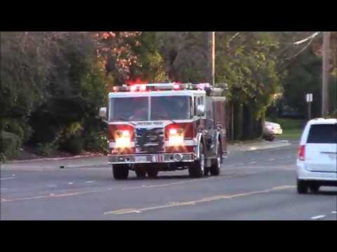 Screaming Q & Lots Of Horn - Sacramento Metro Fire District (Reserve) Engine 109 Responding Code 3