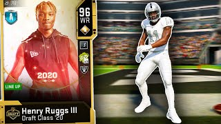 12th PICK HENRY RUGGS is TOO FAST - Madden 20 Ultimate Team NFL Draft Promo