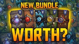 Is the new Get In Here Bundle Worth it? | Hearthstone Pack Opening