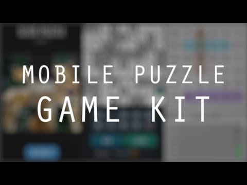 Unity Mobile Puzzle Game Kit Demo
