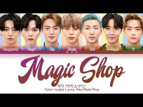 "Download BTS ""Magic Shop"" - Color coded Lyrics Han/Rom/Eng"