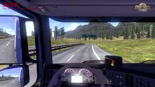 Euro Truck Simulator 2 - Volvo and Italy Beta Gameplay