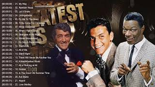 Nat King Cole, Frank Sinatra, Dean Martin: Best Songs - Old Soul Music Of The 50's 60's 70's