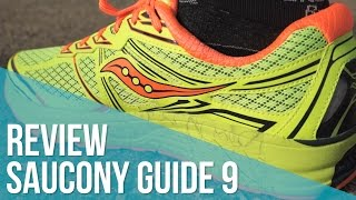 Review Saucony Guide 9