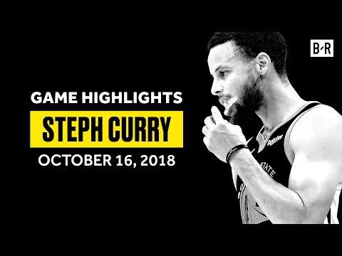 Steph Curry FULL Game Highlights Season Opener vs. Thunder - 32 PTS, 9 AST, 8 REB