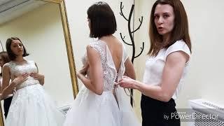 видео Как правильно зашнуровать корсет на свадебном платье