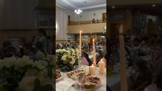 Пение «всё в этом мире на чём-то поставленном держится» свадьба Олега и Юлии . Ростов-на-Дону