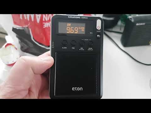 Spain 9690 Khz Shortwave Received on Eton mini portable