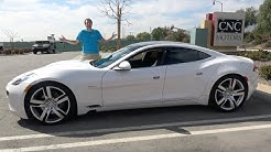 The Fisker Karma Is the Craziest $40,000 Sedan You Can Buy