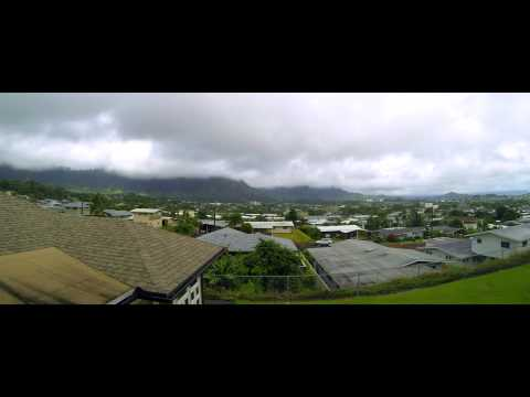 Kaneohe, Hawaii Time Lapse video