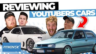 Reviewing Youtubers Cars
