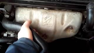 видео Замена антифриза на Шевроле Лачетти