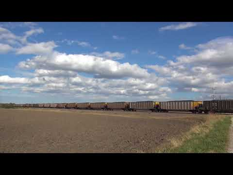 UP 3026 Leads UP CNAIM Southbound Columbia, IL 10/21/2017