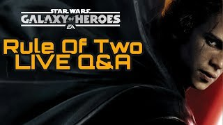 SWGOH Q&A LIVE Interactive Show thumbnail