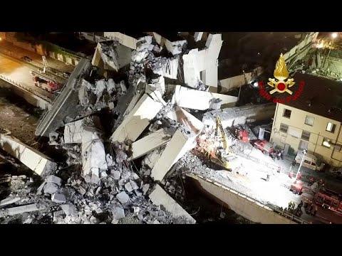 استمرار عمليات البحث عن ناجين محتملين من حادث انهيار جسر جنوة…  - نشر قبل 1 ساعة