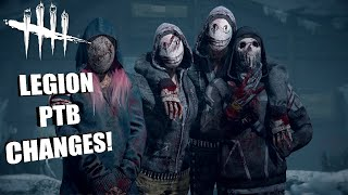 LEGION PTB CHANGES! | Dead By Daylight THE LEGION (PTB)