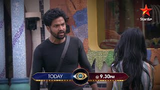 Captain #Ariyana being strict on #Sohel #BiggBossTelugu4 today at 9:30 PM on #StarMaa