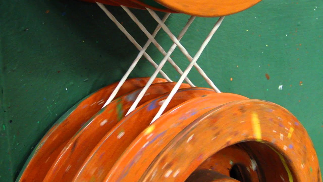 Twisting Mil-Spec and Aerospace Wire and Cable - YouTube