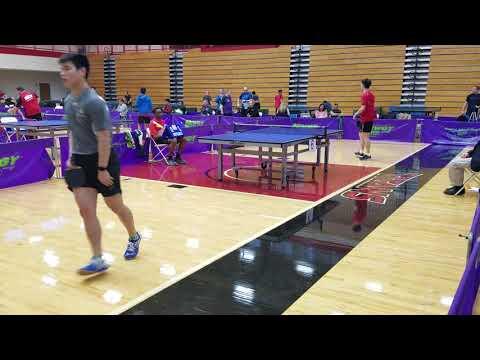 Yichi Zhang (2564) vs Jeff Yamada, (2497) - Open Singles Semifinal