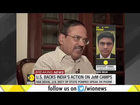 Support grows for India as US backs India's action on JeM camps
