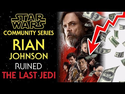Rian Johnson RUINED Star Wars: The Last Jedi