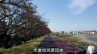 浅川CR(府中四谷橋→高尾)×4.5倍速