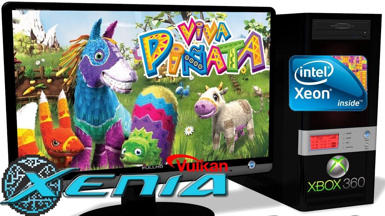 XENIA [Xbox 360] - Viva Piñata [30FPS-Ingame] Improved
