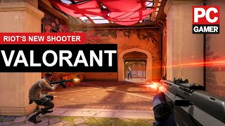 "Valorant gameplay - Riot's ""Project A"" FPS"
