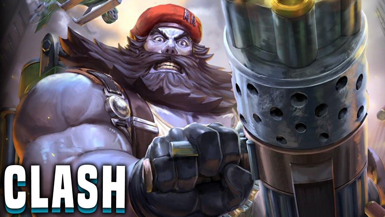 Zhong Kui! G.I.Zhong! (Zhong Kui Build) - Smite Zhong Kui Clash Gameplay