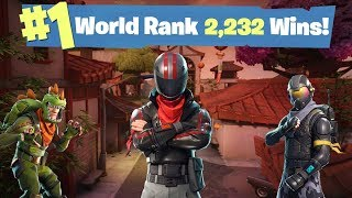 #1 WORLD RANKED FORTNITE SOLO PLAYER  - 2,232 SOLO WINS - 1,042/1,100 Sponsor Goal
