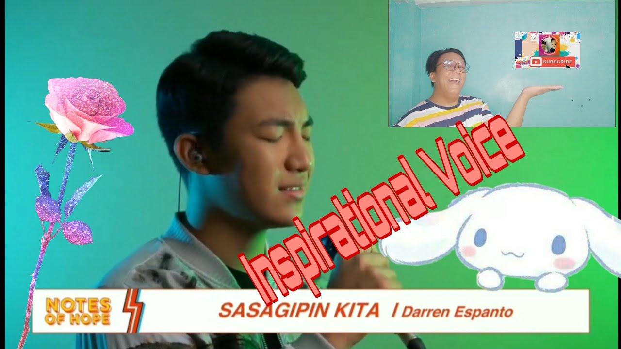 Reacting To Darren Espanto   Sasagipin Kita 2020