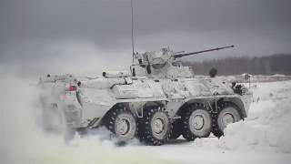 Download lagu Russian Mechanized infantry use military robots