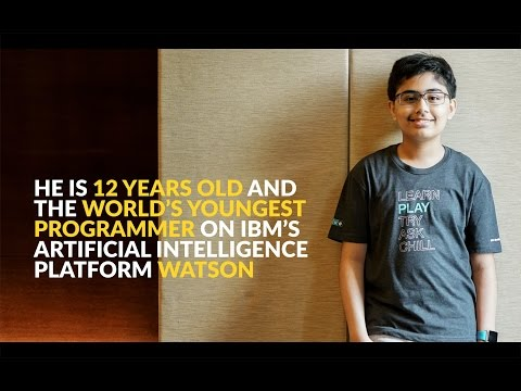 World's Youngest IBM Watson Programmer