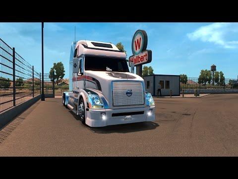 American Truck Simulator Charleston to Philadelphia