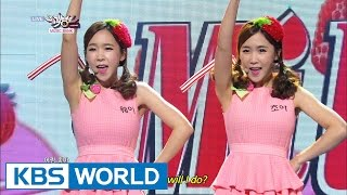 Strawberry Milk  딸기우유  - Ok  Music Bank Hot Stage / 2014.10.17