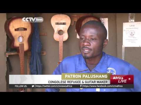 From war to music: Congolese refugee's handmade guitars a hit worldwide