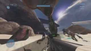 Playing at this high of a FOV makes Halo feel like a different game...
