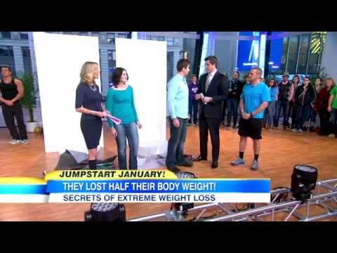 Richard Neal Good Morning America Extreme Makeover Weight Loss Biggest Loser Chris Powell
