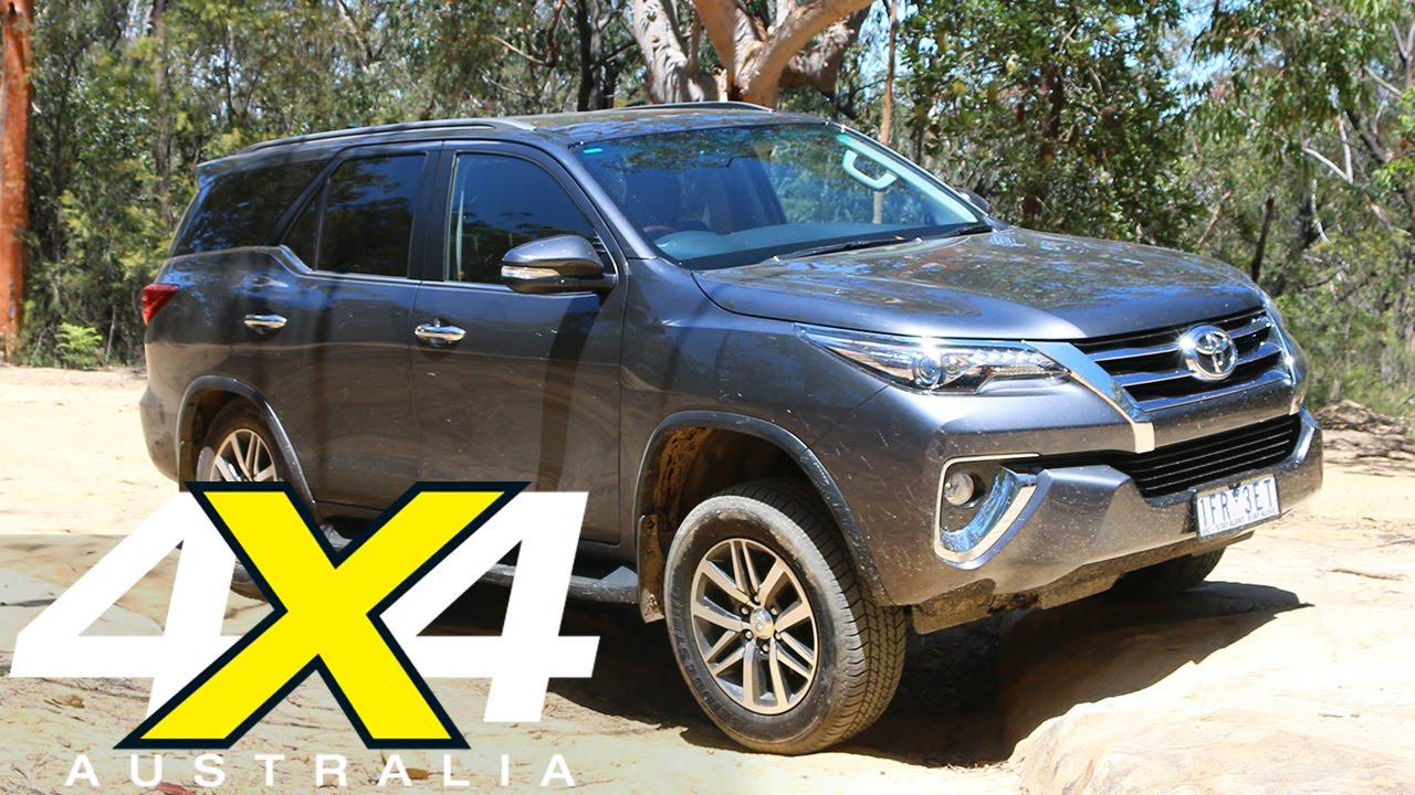 Toyota Fortuner Crusade   Road test   4X4 Australia