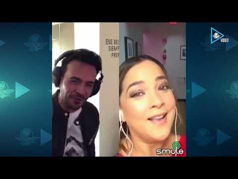 Luis Fonsi y Adamari López sorprenden con dueto musical