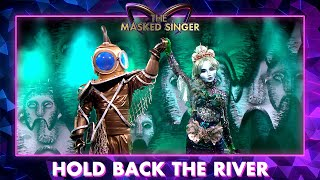 Zeemeermin & Duiker - 'Hold Back The River' - James Bay | The Masked Singer | VTM