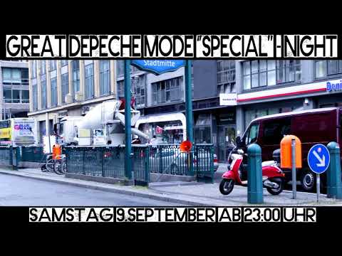 Great DEPECHE MODE Special Night in BERLIN! Samstag 9.September 2017