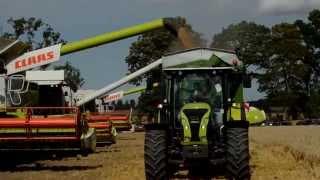 Claas Ulenberg: Pokazy maszyn rolniczych - Żniwa 2015 Głuszyno