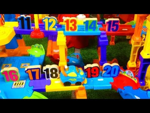 NUMBER HUNT in Smart Wheel City (11-20) VTech Go! Go! Smart Wheels Counting Game