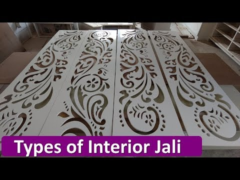 Types Of Interior Jali Mdf Wpcpvctranslucent Stone Jalikorean Jali