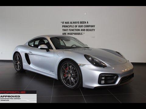 Certified Pre-Owned 2015 Porsche Cayman GTS @ New Country Porsche Greenwich