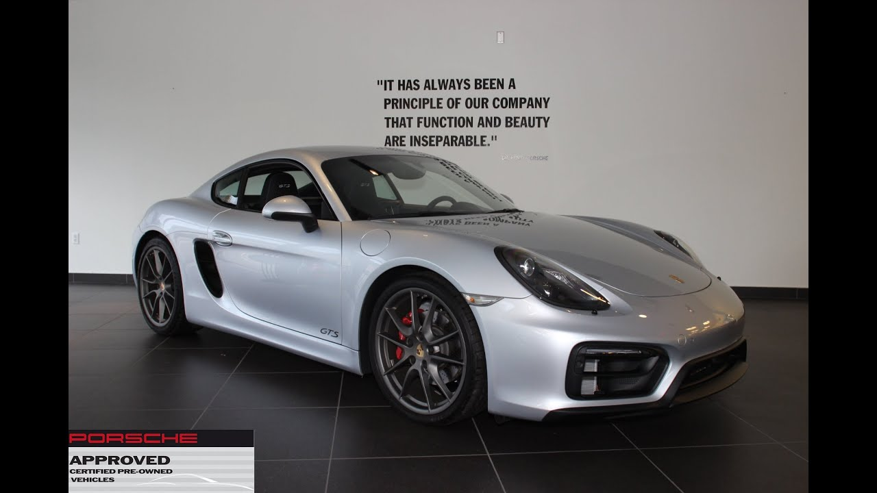 certified pre owned 2015 porsche cayman gts new country porsche greenwich