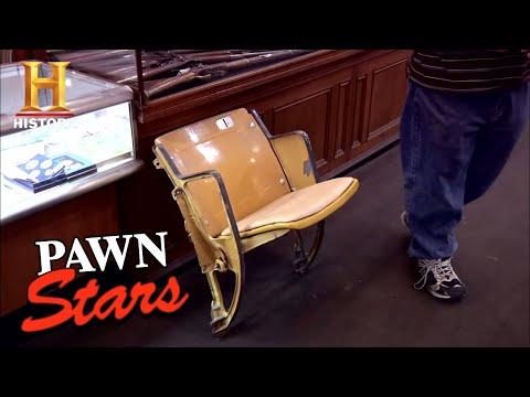 Pawn Stars: Seat from Dodger Stadium (Season 7)   History